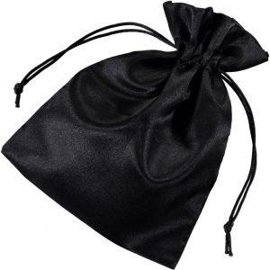 Satin påsar 15x20cm svart (3)
