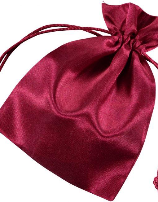Satin påsar burgundy 10x15cm (3)