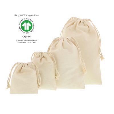 ekologiska bomullspåsar