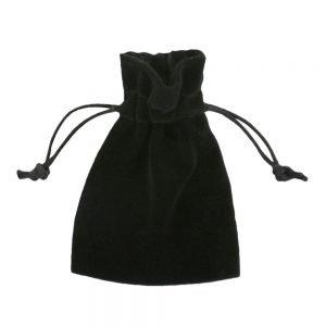 Sammet påsar 7,5x10cm svart