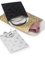 100 bitar Presentpåsar Välj mellan 4 utföranden och storlekar 8x12cm eller 12x18cm