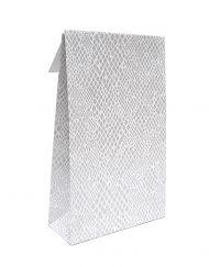 50 bitar Presentpåsar Papper ORM med adhesiv remsa och undre block 10x15,7x4 of 14x23x5,5cm
