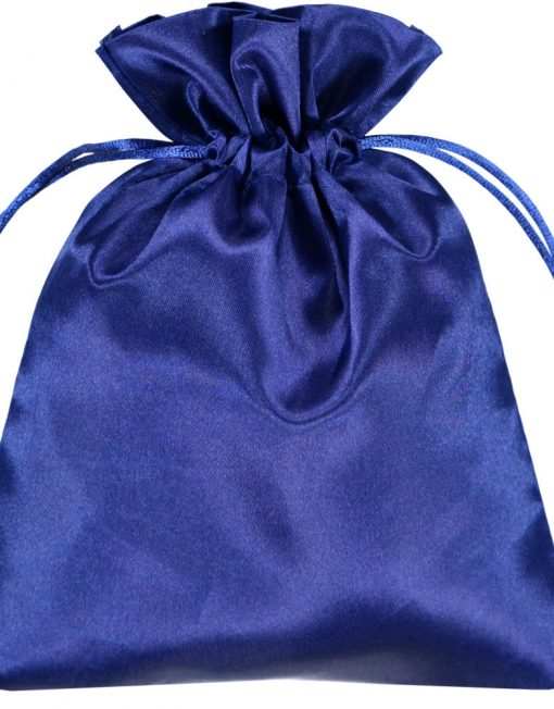 Satin påsar 15x20cm blue